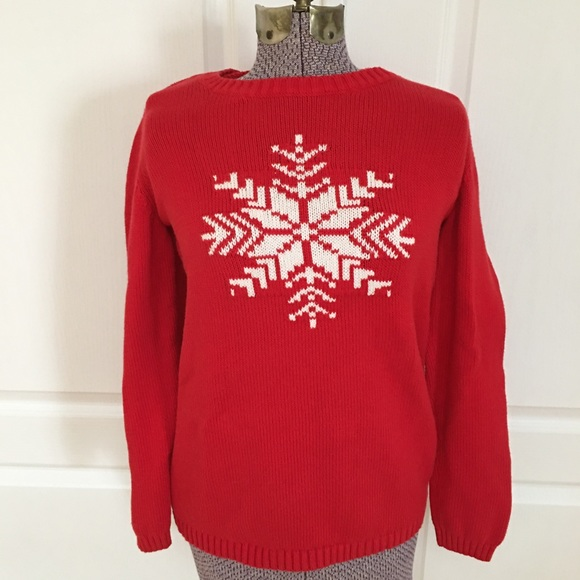 Tommy Hilfiger Winter Holiday Snowflake Sweater